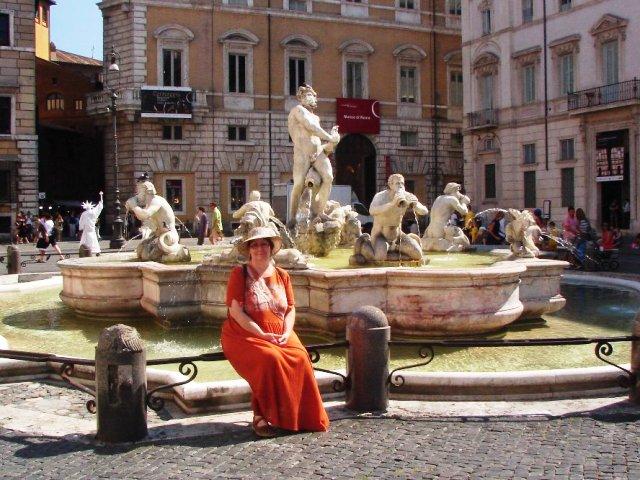 Piazza Navona Neptumova kašna