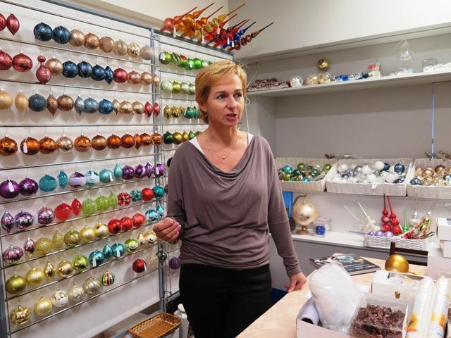 Paní Romana Juklová, žena mnoha zručností - od navrhování vzorů až po marketing:))