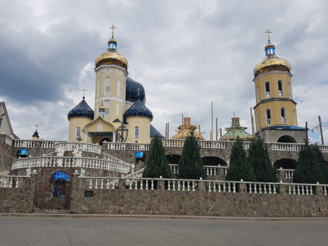 Pravoslavný kostel v Mezihoří