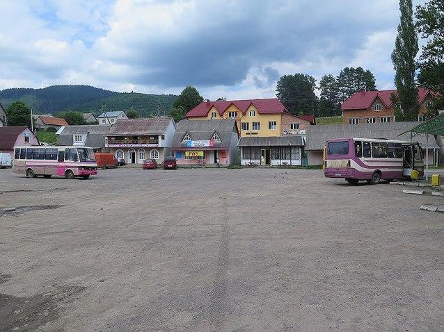 Autobusové nádraží v Mezihoří